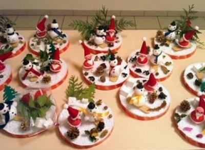Fabrication de décorations de Noël